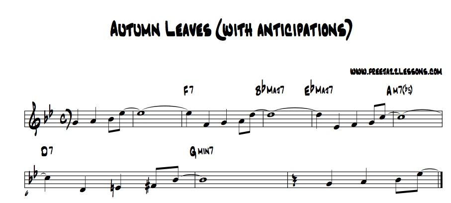 Autumn Leaves Chords Easy. Jazz Standards for Solo Guitar: Autumn ...