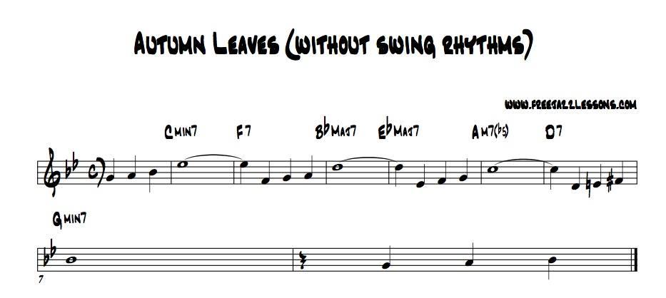 Jazz Rhythm - How To Practice This Skill