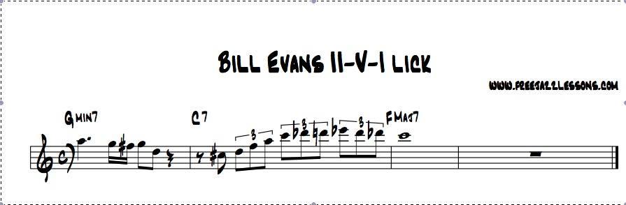 Bill Evans Lick