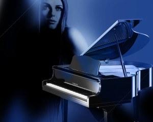 blues scale jazz piano