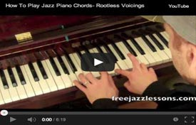 jazz piano chord progressions