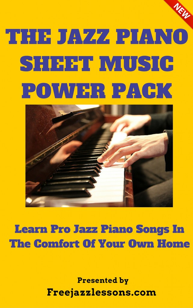 Free sheet music free jazz lessons