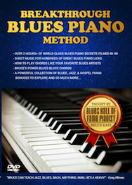 blues piano chords