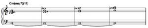 harmonic minor scale
