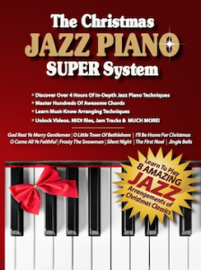 Christmas jazz piano DVD copy