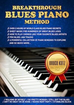 Tasty Blues Piano Licks #1